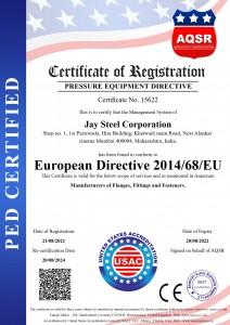 Jay Steel corporation - PED